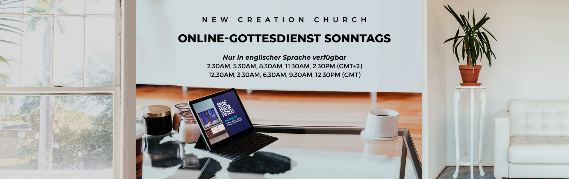 Online_church_DE_31082020 Home | New Creation TV
